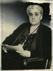 May 22, 1935 file photo: The famous Chicago Hull House settlement founder died yesterday. Today thousands of persons from every walk of life are sorrowing as they pass her heir. Services will be held tomorrow in the house she built for the friendless. She will not be friendless.