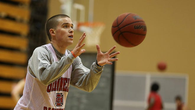 Jack Taylor of Grinnell College scored 138 points during a game last season and 109 points during a game this season.