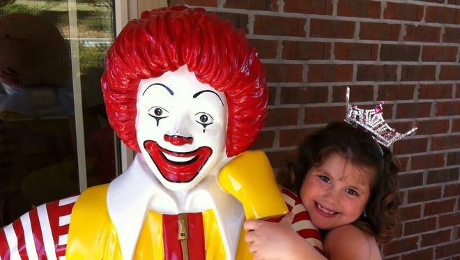 Jessica Hatton volunteers and raises money for the Ronald McDonald House.