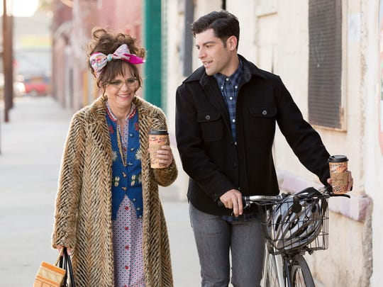 "Max Greenfield is John, a younger man who befriends Doris (Sally Field) in ""Hello, My Name Is Doris."""