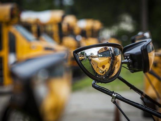 Muncie school buses