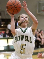 Alexis Miller of Howell leads Livingston County with a 17.3 scoring average.