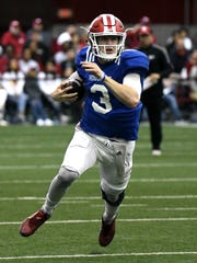 Peyton Ramsey is the safest of the three QB choices for IU, says Gregg Doyel.