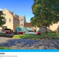 A rendering of Open Door Mission's tentative plans to open a supported housing facility for women and children in the 19th Ward.
