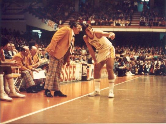 Former Vols coach Ray Mears made the orange blazer