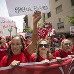 Arizona teachers walkout for higher pay, funding for schools