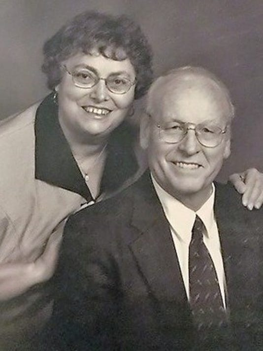 Anniversaries: Richard Peters & Angeline Peters (Marnich)