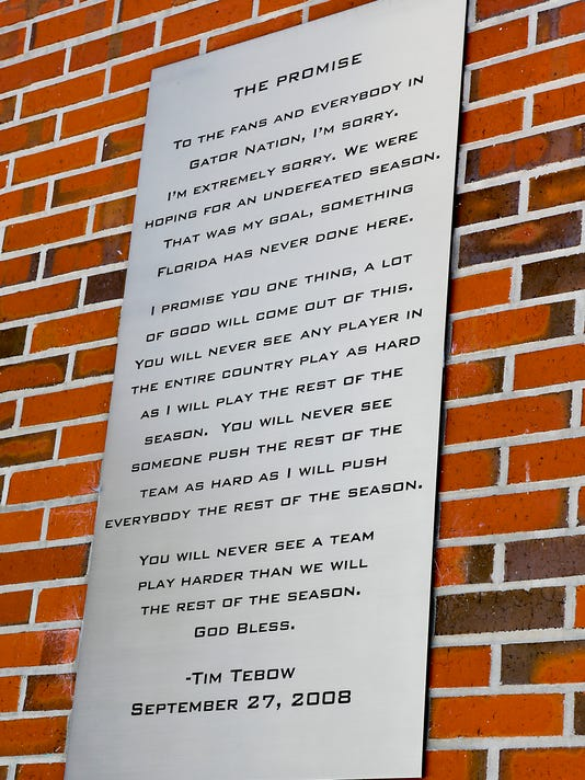 Are We Losing Play Without Purpose >> Tebow Teammates Reflect On 2008 Loss To Ole Miss Promise