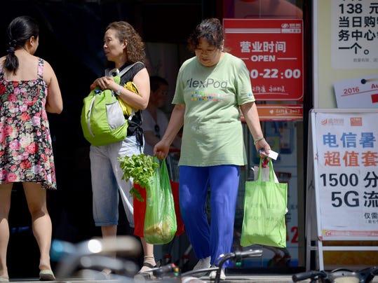 CHINA-ECONOMY-INFLATION