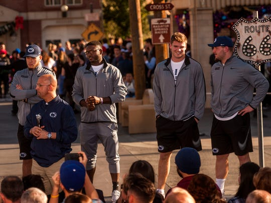 The Rose Bowl trip has been mostly all business for
