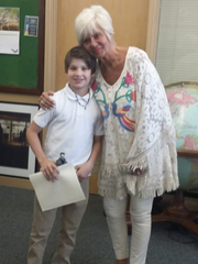 Rose Hill teacher Patricia Ayers has been helping students