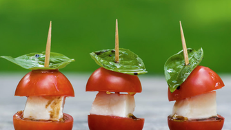 caprese salad - mini
