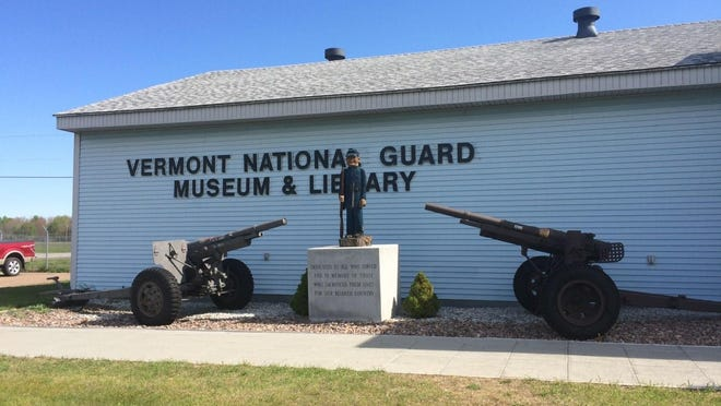 Outside view of the Vermont National Guard Museum and Library.