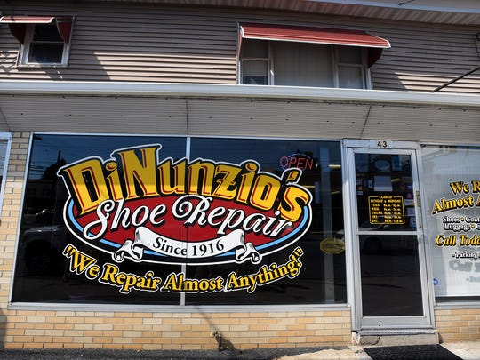 DiNunzio's Shoe Repair, at 43 E. Cumberland St., Lebanon, will celebrate its 100th anniversary on Sept. 7, 2016. The business is owned by Dave DiNunzio.