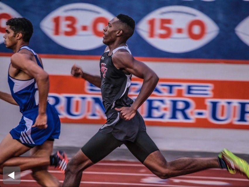 West Florida High sophomore Damond Johnson will join the team at the Class 2A state track and field meet after his second-place finish in the 400 meter event at the Region 2A competition.