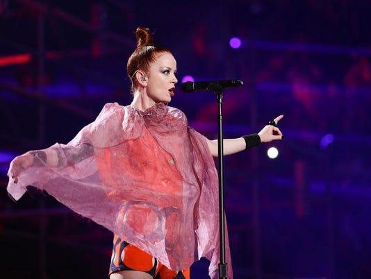 MTV World Stage Monterrey, Mexico 2012 - Show