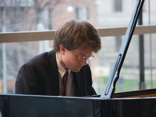 Pianist Ryan MacEvoy McCullough will perform at Cornell on Thursday.
