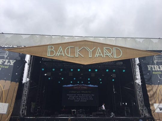 Firefly Music Festival's Backyard Stage got the biggest