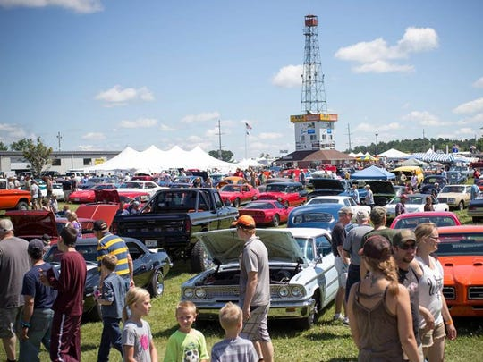 The 47th annual Iola Car Show will take place July 11-13, 2019.