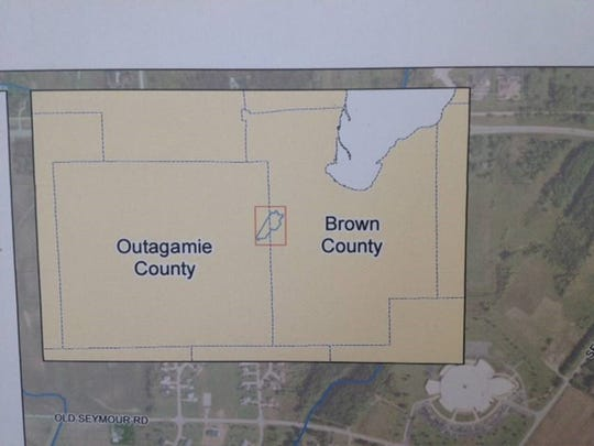 Silver Creek watershed lies on the border between Brown and Outagamie counties