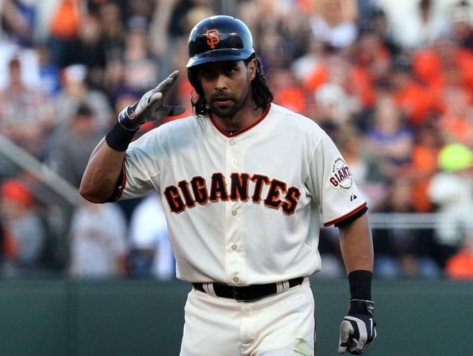 Giants OF Angel Pagan: Back surgery, out for season