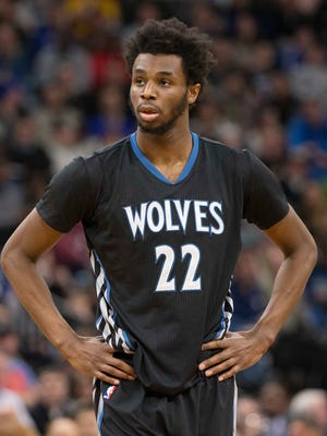 Timberwolves forward Andrew Wiggins and the team are negotiating a max deal.