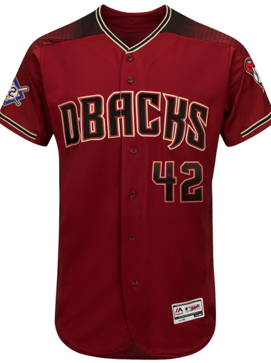 Diamondbacks Jackie Robinson Day uniform. 91d5b262580