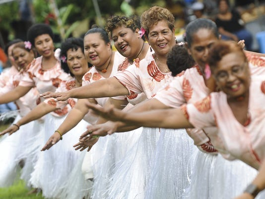Palauans, friends gather for festivities