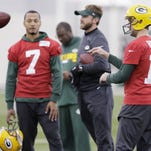 Aaron Rodgers raising 'competitive level' of Packers' practices