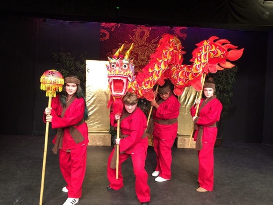 """""""Mulan Jr."""" plays at the Barn Theater through the weekend."""