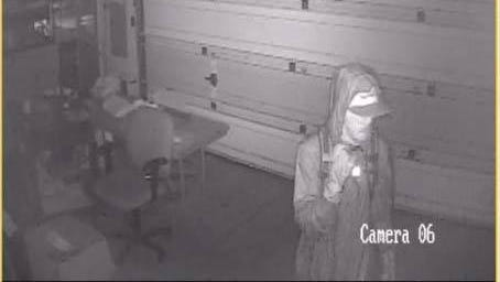 Keizer police are searching for a man suspected of burglarizing three homes on Sunday.