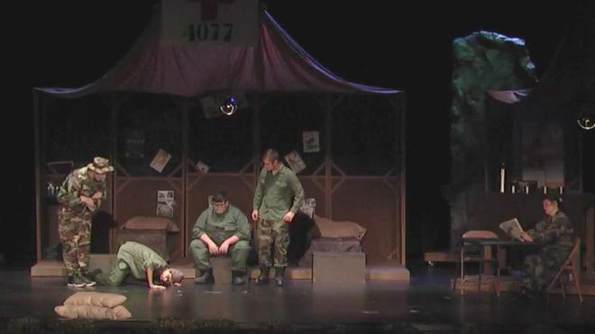 Last weekend a very special episode of M*A*S*H appeared on Facebook live -- produced, acted and directed by the Augusta High School drama department.