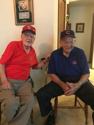 Bud Everhart and Gene Sweeney: It's Army and Navy, Cards and Cubs, but really it's a great friendship.