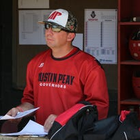 Austin Peay head baseball coach Travis Janssen started coaching with the Govs this year and has 20 years of prior coaching experience.