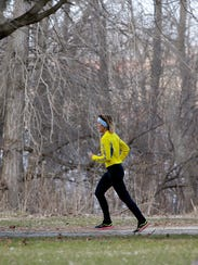 Kathy Waldron of Allouez will be running her 25th consecutive