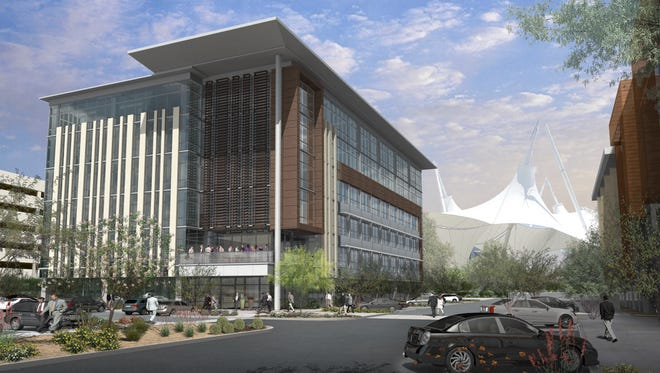 A six-story, 90-foot office tower proposed at SkySong in Scottsdale would be the complex's largest building yet and could bring 500 to 600 more jobs to the area.