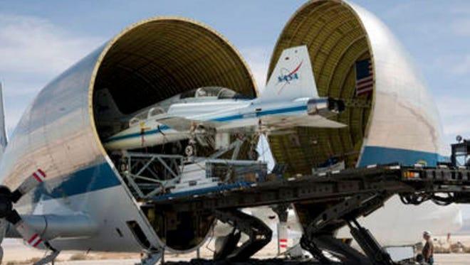 NASA's Super Guppy cargo plane