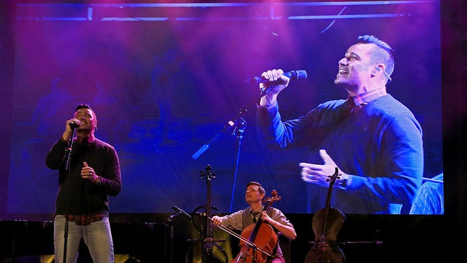 The Piano Guys perform Oct. 22 at Tuacahn Amphitheatre in Ivins City.