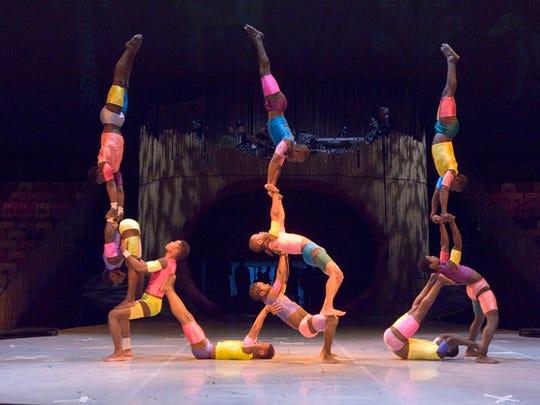 Cirque Zuma Zuma  features contortionists, jugglers,