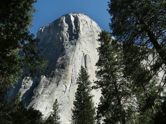El Capitan in Yosemite National Park, seen on Aug. 25, 2015.