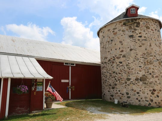 The barn, which no longer holds animals, but memorabilia and space for large groups, will be host to Lunch on the Farm.