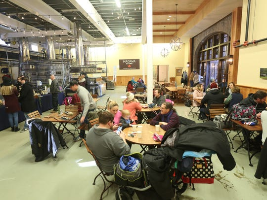 Saturday's Hot Chocolate Festival at Crown Maple in