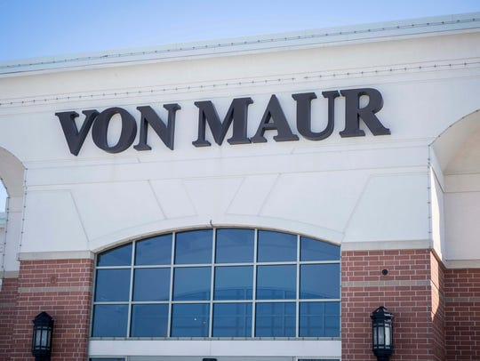 Von Maur President Jim von Maur was in West Des Moines