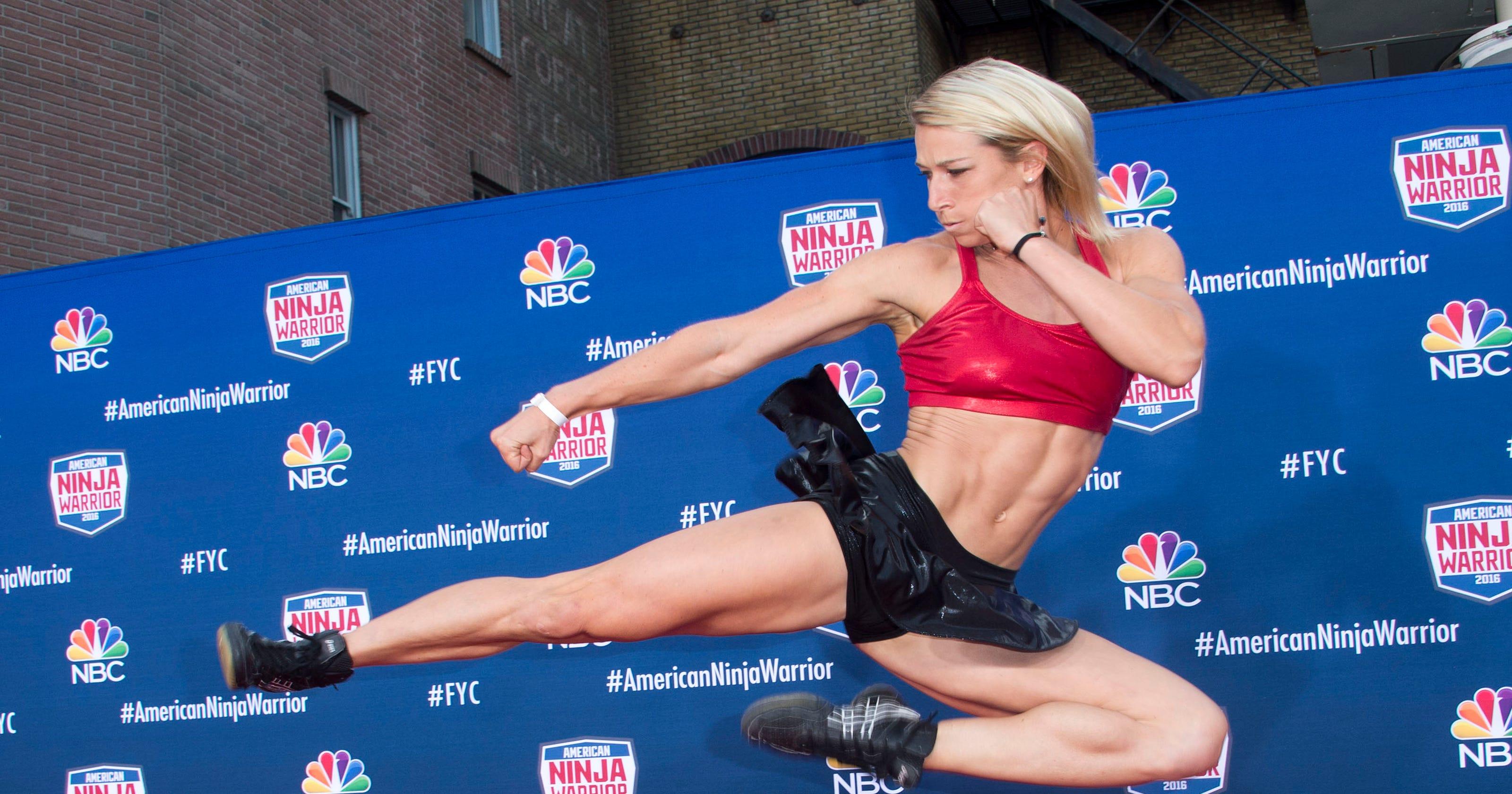 356f0b92a7 How  Supergirl  stuntwoman Jessie Graff just made  Ninja Warrior  history