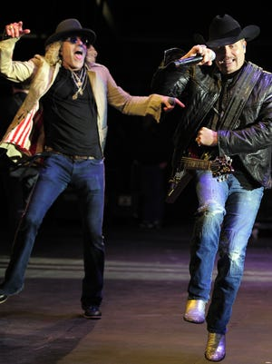 John Rich and Big Kenny of Big & Rich will perform during the 2016 Honda NHL All-Star game at Bridgestone Arena on Jan. 31.