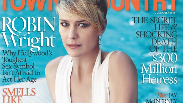 T&C June, July Cover Robin Wright