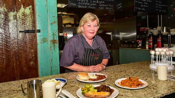 Mary Plaisance prepares homestyle breakfast and lunch at Good to Geaux restaurant on Johnston st.