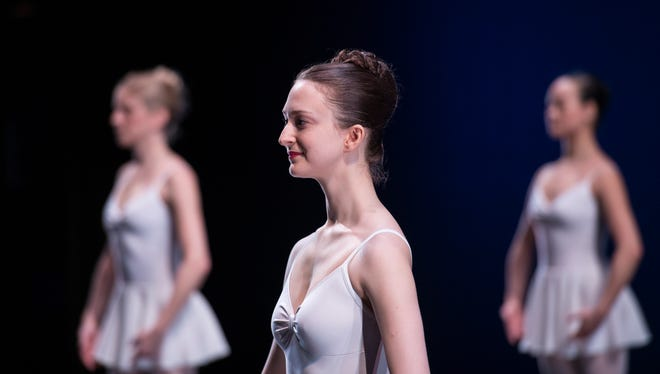 """Louisville Ballet Trainee Shelby Shenkman performs George Balanchine's """"Concerto Barocco."""""""