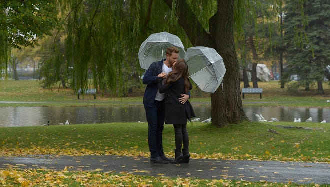 """On """"The Bachelor,"""" Nick and Vanessa's hometown date in Montreal was full of questions about how the couple could make their relationship work in the real world."""