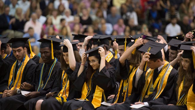 The Clark Advanced Learning Center's Commencement Ceremony for the Class of 2017 at Jensen Beach High School, on Saturday, May 27, 2017 in Jensen Beach.